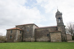 Arquitetura urbana de Santiago de Compostela, Espanha Imagens de Stock Royalty Free