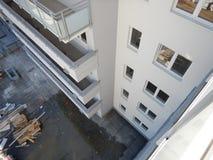 Arquitetura urbana Olhar artístico em cores vívidas do vintage Fotos de Stock Royalty Free