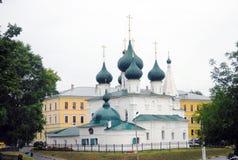 Arquitetura velha da cidade de Yaroslavl, Rússia Imagens de Stock