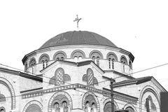 arquitetura velha de cyclades greece dos inathens e th grego da vila Imagem de Stock Royalty Free
