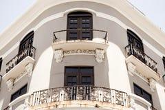 Arquitetura velha de San Juan foto de stock royalty free