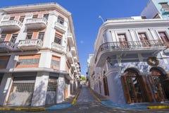Arquitetura velha de San Juan fotos de stock royalty free