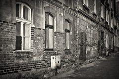 Arquitetura velha do tijolo em Grudziadz Imagens de Stock