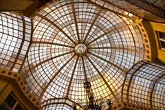 Arquitetura velha do vidro Fotos de Stock Royalty Free