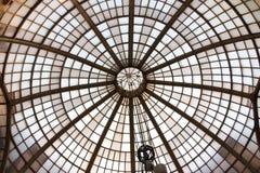Arquitetura velha do vidro Fotografia de Stock