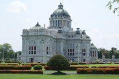 Arquitetura velha em Banguecoque, Tailândia imagem de stock