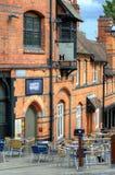Arquitetura velha em Nottingham, Inglaterra Fotos de Stock