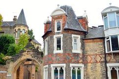 Arquitetura velha em Nottingham, Inglaterra Imagem de Stock