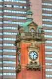 Arquitetura velha em Nottingham, Inglaterra Imagens de Stock Royalty Free