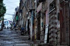 Arquitetura velha em Qingdao, China fotografia de stock