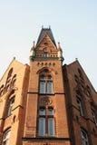 Arquitetura velha em Varsóvia Fotografia de Stock