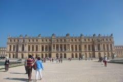 Arquitetura Versaille Paris, arquitetura europeia, castelo Imagem de Stock Royalty Free