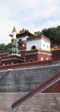 Arquiteturas chinesas antigas no dia ensolarado Imagem de Stock Royalty Free