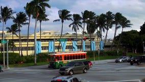 Arquiteturas da cidade de Miami Bayside EUA filme