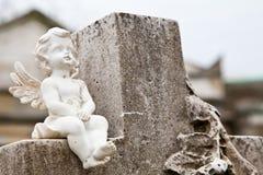 Arquiteturas do cemitério - Europa Fotografia de Stock