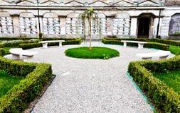 Arquiteturas do cemitério - Europa imagem de stock