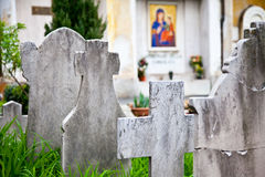 Arquiteturas do cemitério - Europa imagens de stock royalty free