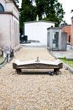 Arquiteturas do cemitério - Europa Fotos de Stock Royalty Free