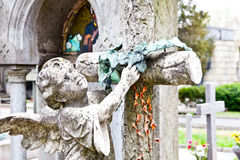 Arquiteturas do cemitério - Europa fotos de stock