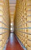 Arquivar com queijo Imagens de Stock
