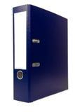 Arquivo azul Imagem de Stock