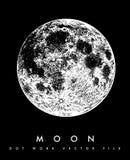 """Arquivo da ilustração do estoque do †da ilustração estoque """"do †da lua do """" ilustração stock"""