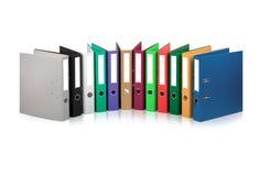 Arquivos coloridos Fotos de Stock