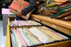 Arquivos de arquivo Fotos de Stock