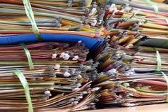 Arquivos de arquivo Foto de Stock