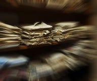 Arquivos na sala do arquivo Imagem de Stock