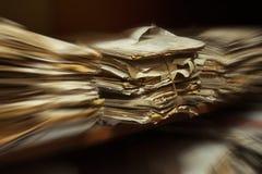 Arquivos na sala do arquivo Imagem de Stock Royalty Free