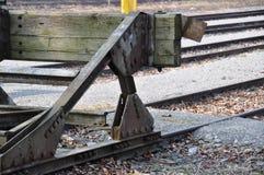 Arrêt d'amortisseur de rail Images libres de droits