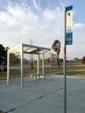 Arrêt d'autobus de YRT Images stock