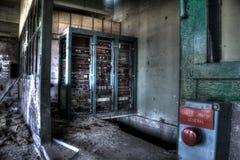 Arrêt d'urgence Photo stock