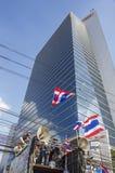 Arrêt de Bangkok : Le 14 janvier 2014 Photo libre de droits