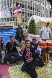 Arrêt de Bangkok : Le 14 janvier 2014 Photos stock