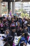 Arrêt de Bangkok : Le 13 janvier 2014 Image libre de droits
