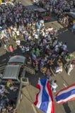 Arrêt de Bangkok : Le 13 janvier 2014 Images stock