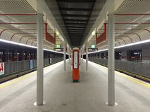 Arrêt de métro Images stock