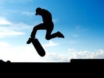 arrêt de patineur Photo libre de droits