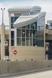 arrêt de rail de la lumière 35W Images libres de droits