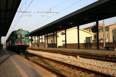Arrêt de train Photo stock