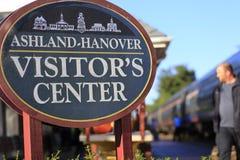 Arrêt de train d'Ashland Photo stock