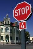 Arrêtez dans Swakopmund Photographie stock