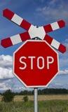 Arrêtez et croix de rue, Andrew Photographie stock libre de droits