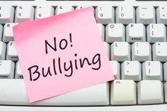 Arrêtez intimider d'Internet Image libre de droits