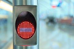 Arrêtez l'aéroport de signe Photo libre de droits