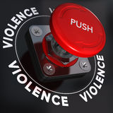Arrêtez la violence Images stock