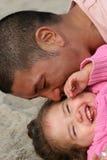 Arrêtez le papa ! ! ! ! Images libres de droits