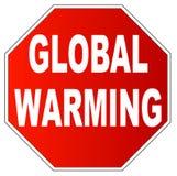 Arrêtez le réchauffement global Photo libre de droits